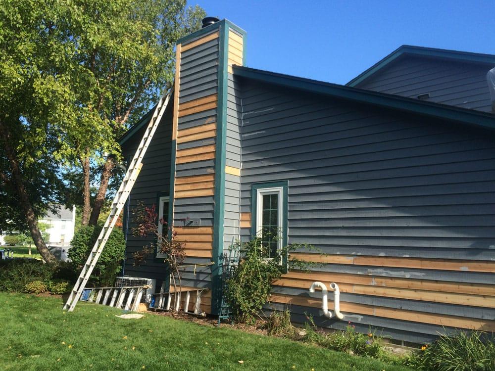 Residence Exterior Cedar Siding